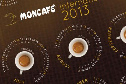 Moncafè | Calendario 2013
