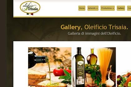 Oleificio Trisaia | Web Design