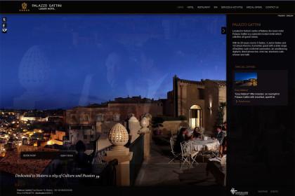 Palazzo Gattini | Web Design