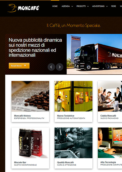 Moncafè | Web Design