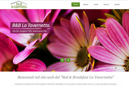 B&B La Tavernetta | Web Design