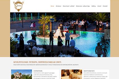 Masseria Grottella | Web Design