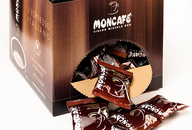 Moncafè | Restilyng packaging cialde