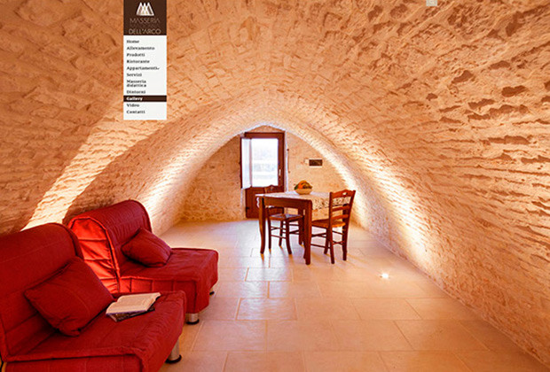 Masseria Madonna dell'Arco | Web Design